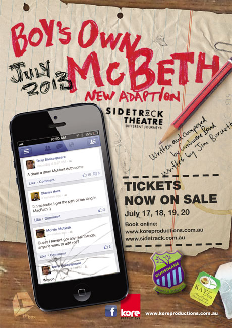 Boy's Own MacBeth Poster
